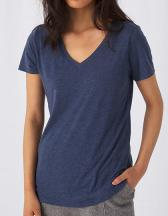 Women´s V-Neck Triblend T-Shirt