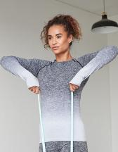 Ladies´ Seamless Fade Out Long Sleeved Top