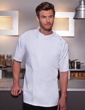 Kurzarm Überwurf-Kochhemd Basic